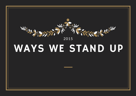 Ways we stand up